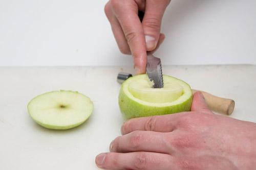 Как сделать из яблока для кальяна 944